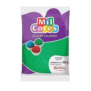 Açúcar Colorido Verde Mil Cores 500gr