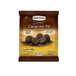 CACAU EM PÓ ALCALINO MAVALÉRIO - 500 gr