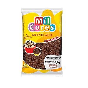 Granulado Crocante Chocolate - 2,1 Kg