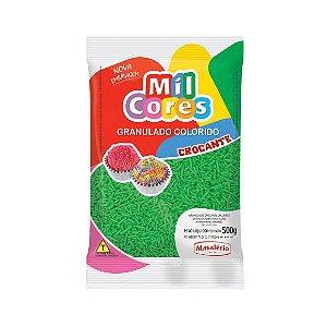 Granulado Crocante Verde - 500 Kg