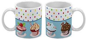 Caneca Especial 300ml Cupcake - 1 unidade