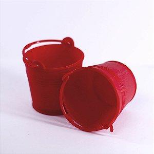 MINI  Baldinhos para docinhos  Vermelho - 10 unidades