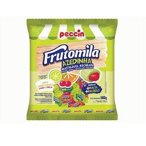 Bala Mastigável Peccin Frutomila Azedinha- 500gr