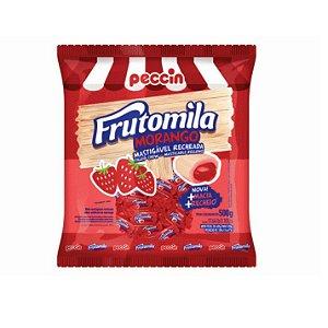 Bala Mastigável Peccin Frutomila Morango - 500gr