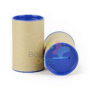 Cofrinho para Lembrancinha - Azul Royal - Kit c/ 10 unidades