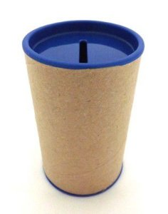 Cofrinho 10x6 para Lembrancinha - Azul Royal - Kit c/ 10 unidades