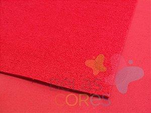 Folha de EVA 40x60cm - Atoalhado Verde Vermelho - 5 unidades