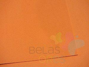 Folha de EVA 40x60cm - Laranja - 10 unidades