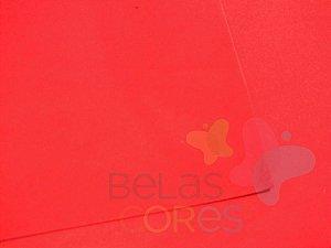 Folha de EVA 40x60cm - Vermelho - 10 unidades