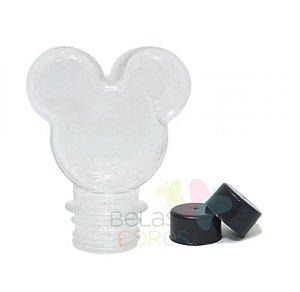Baleiro/Tubete Mickey 90ml Tampa Preta - 10 unidades