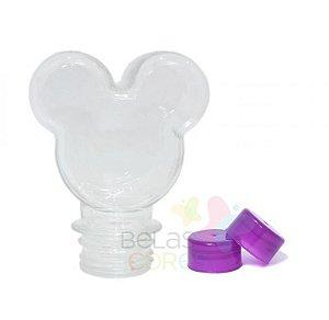 Baleiro/Tubete Mickey 90ml Tampa Roxa - 10 unidades