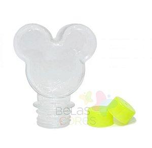 Baleiro/Tubete Mickey 90ml Tampa Verde Claro - 10 unidades