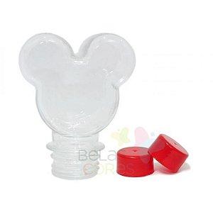 Baleiro/Tubete Mickey 90ml Tampa Vermelha - 10 unidades