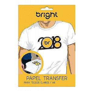 Papel Transfer Light - Para Tecidos Claros - Bright - Pacote c/ 100 folhas