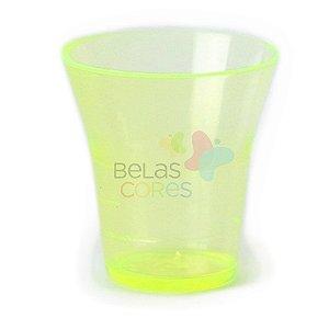 Copinho Cálice 15 ml Amarelo - Kit C/ 50 Unidades