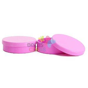 Latinhas de Plástico Mint to Be 5,5x1,5 cm Pink - Kit com 50 unidades