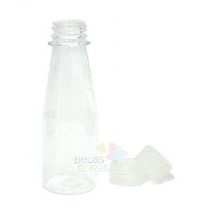 Garrafinha Cajuzinho - Suco PET 100 ml Tampa Transparente - 10 unidades