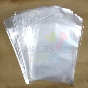 Saco Celofane 30x40 cm - 100 unidades