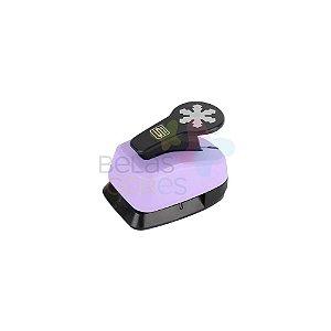 Perfurador Artesanal 25mm Floco de Neve - 1 unidade