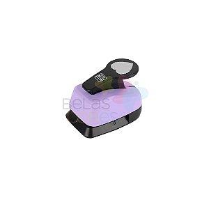 Perfurador Artesanal 25mm Coração Escalope - 1 unidade