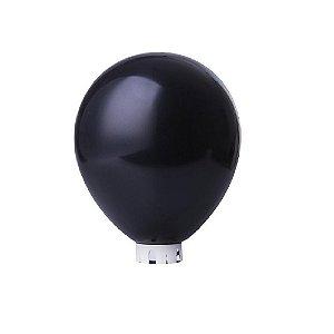 Balão/Bexiga Lisa Preta Nº 9 - 50 unidades