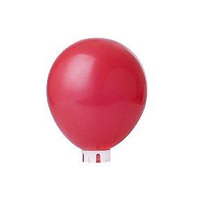 Balão/Bexiga Lisa Vermelha Nº 9 - 50 unidades