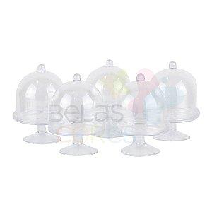 Mini Cúpula Acrílica Transparente - 50 unidades