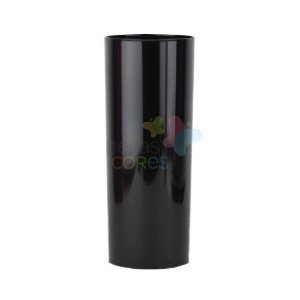 Copo Long Drink 350ml  Preto - 25 unidades
