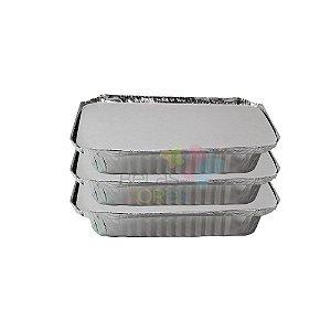 100 Marmitinhas De Alumínio De 730ml Para Lembrancinha
