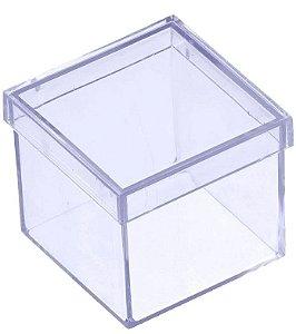 10 Caixinhas Acrílicas 5x5 - Transparentes