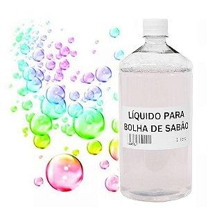 Liquido Fluído p/ Bolha de Sabão (Manual ou Máquina) 1 Litro