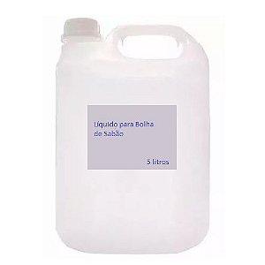 Liquido Fluído p/ Bolha de Sabão (Manual e Máquina) 5 Litros