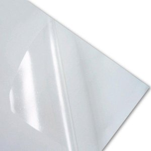 Papel Adesivo Vinil Transparente A4 Jato de Tinta - 20 folhas