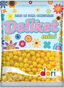 Mini Deliket Frutas Amarelo Dori