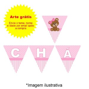 Bandeirola Personalizada Triangular