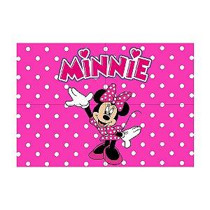 Painel de Festa Decorativo Minnie Rosa - 1 Unidade