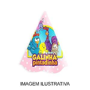 5 Chapéus de Festa Galinha Pintadinha Rosa
