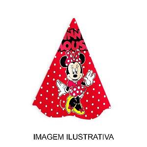 5 Chapéus de Festa Minnie Vermelha