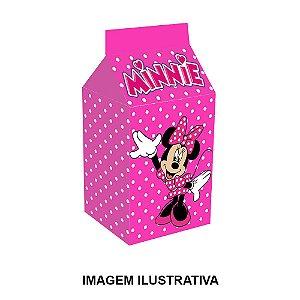 5 Caixinhas Milk Minnie Rosa Para Lembrancinha