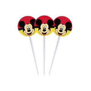 20 Toppers para Docinhos Mickey