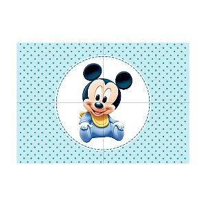 Painel de Festa Decorativo Mickey Baby - 1 Unidade