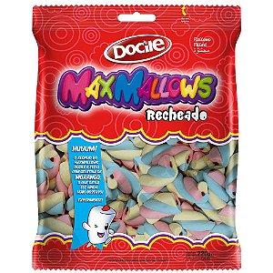 Maxmallows Marshmallow Recheado Twist Colorido Docile 220g