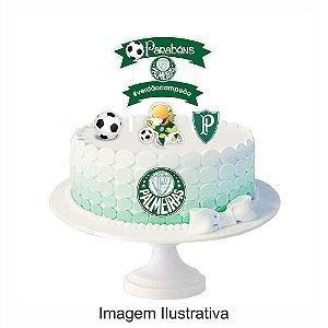 Topo de Bolo Palmeiras - 1 Unidade