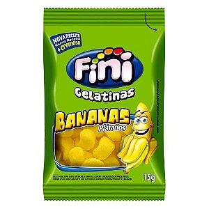 Fini Bananas Bala Gelatina 15g - 1 Unidade