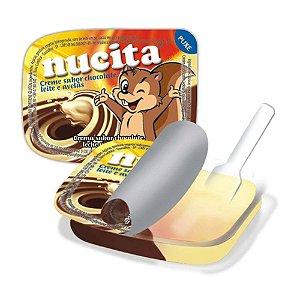 Creme Nucita Chocolate, Leite e Avelã 15g - 1 Unidade