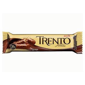 Chocolate Trento Recheado Sabor Avelãs com 2 Unidades