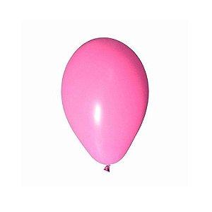 """Balão Bexiga Lisa Rosa 6,5"""" 15cm - 20 Unidades"""