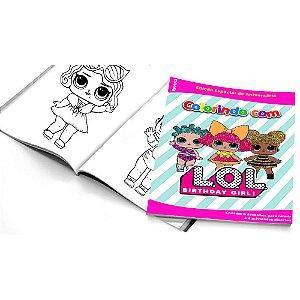 5 Cadernos de Colorir LOL Surprise