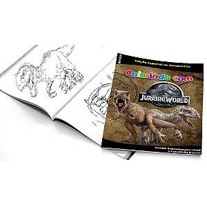 5 Cadernos de Colorir Jurassic World