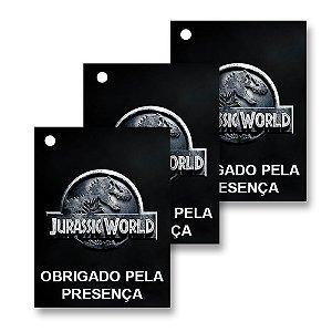 30 Tags Jurassic World 4x3cm